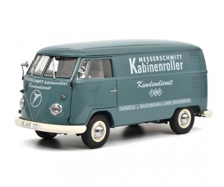 """schuco VW T1b box van """"Messerschmitt"""", 1:18"""