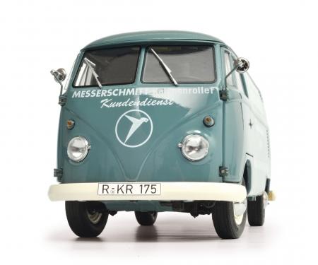 "schuco VW T1b Kastenwagen ""Messerschmitt"", 1:18"