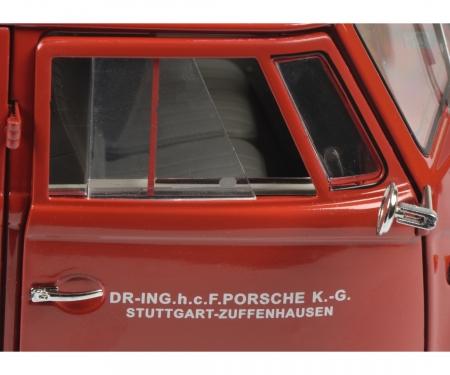 schuco VW T1 box van PORSCHE 1:18
