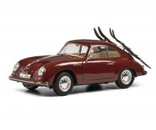 schuco Porsche 356A Skiurlaub 1:18