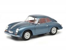 """schuco Porsche 356 A Carrera Coupé """"Edition 70 Jahre Porsche"""", blue metallic, 1:18"""
