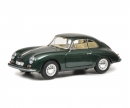 schuco Porsche 356 A Carrera Coupé, green metallic, 1:18