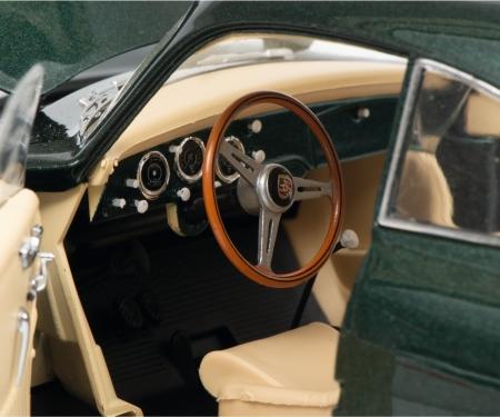 schuco Porsche 356 A Carrera Coupé, grün metallic, 1:18