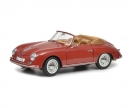 schuco Porsche 356 A Carrera Coupé, red, 1:18