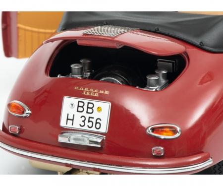 Porsche 356 A Carrera Coupé, rubinrot, 1:18