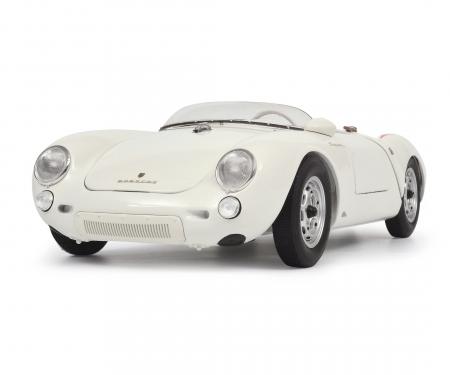 "schuco Porsche 550 A Spyder ""Edition 70 Jahre Porsche"", white 1:18"
