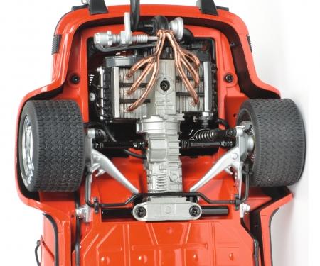 Porsche 934 RSR, indischrot, 1:18