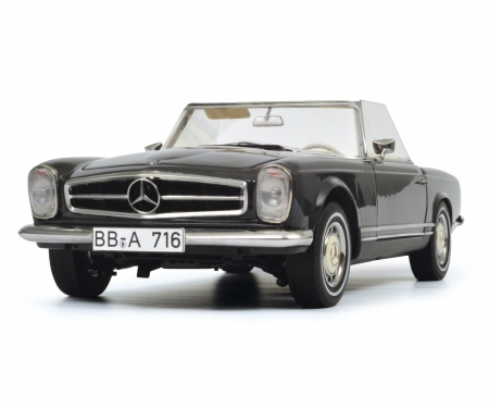 Mercedes-Benz 280 SL, grey, 1:18
