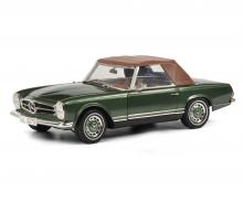 schuco MB 280 SL, green 1:18