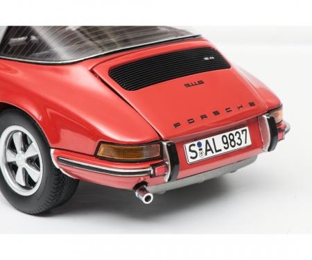 Porsche 911 S Targa 1973, red, 1:18