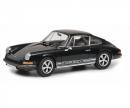 schuco Porsche 911 S Coupé 1973, black, 1:18