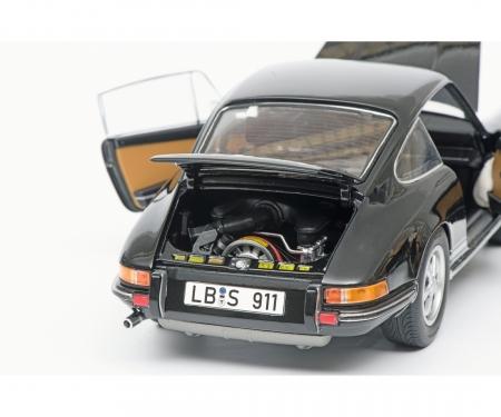 schuco Porsche 911 S Coupé 1973, schwarz, 1:18