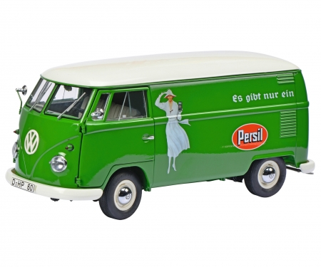"""schuco VW T1b """"Persil"""" Kastenwagen 1:18"""