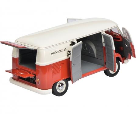 "VW T1b Ferrari Automobile Kastenwagen ""Francorchamps"" 1:18"