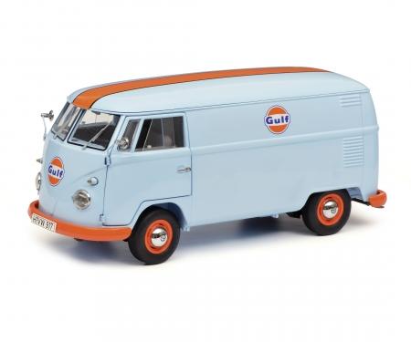 """schuco VW T1b Kastenwagen """"Gulf"""", 1:18"""