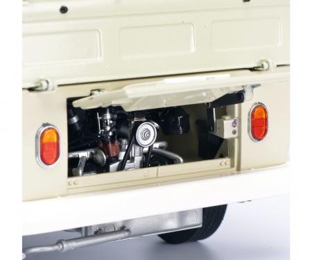 schuco VW T1b Pritschenwagen mit Plane, beige 1:18