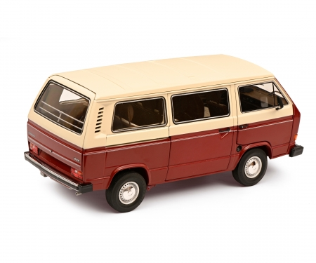 schuco VW T3a bus red/white 1:18