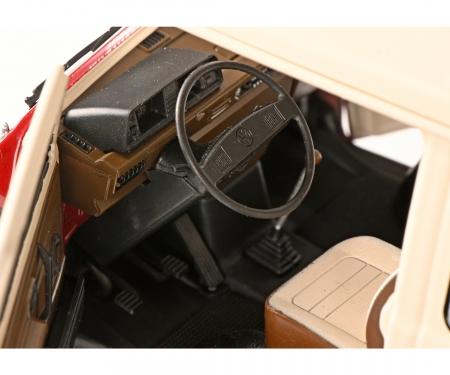 schuco VW T3a Bus rot/weiß 1:18
