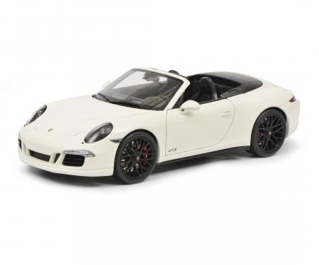 Porsche 911 Carrera GTS Cabriolet, white, 1:18