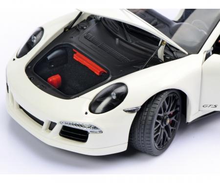 Porsche 911 Carrera GTS Cabriolet, weiß, 1:18
