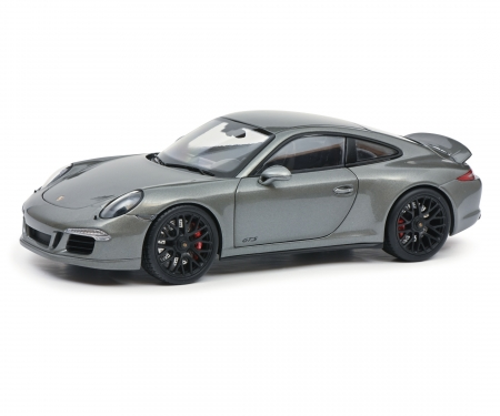 schuco Porsche 911 GTS grey 1:18