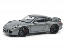 schuco Porsche 911 GTS grau 1:18