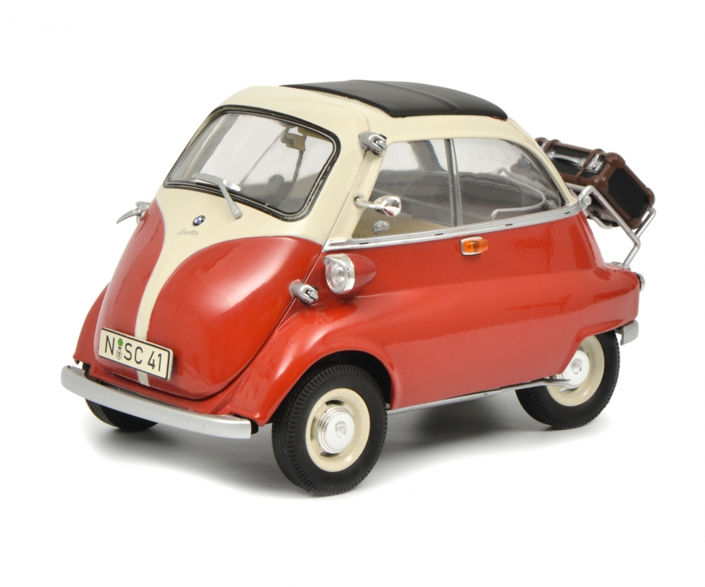 bmw isetta export rot beige 1 18 edition 1 18 pkw. Black Bedroom Furniture Sets. Home Design Ideas