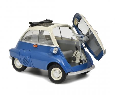BMW Isetta Export, blue/grey 1:18
