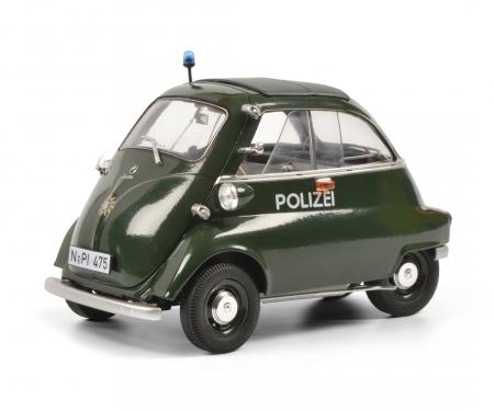 schuco BMW Isetta Exp. POLICE 1:18