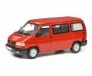 schuco VW T4b Westfalia Camper, rot, 1:18