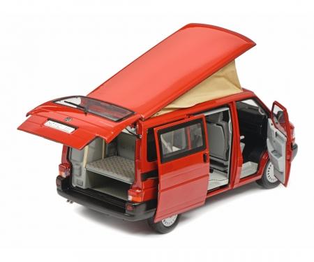 schuco VW T4b Westfalia Camper, red, 1:18