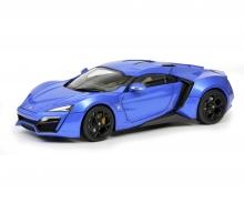 schuco Lykan Hypersport, blue, 1:18