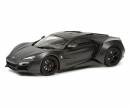 schuco Lykan Hypersport, grey, 1:18
