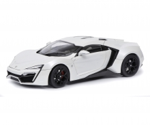 Lykan Hypersport, white, 1:18