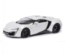schuco Lykan Hypersport, white, 1:18
