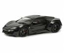 Lykan Hypersport, black, 1:18