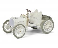 """schuco Mercedes 35 HP """"1901"""", white, 1:18"""