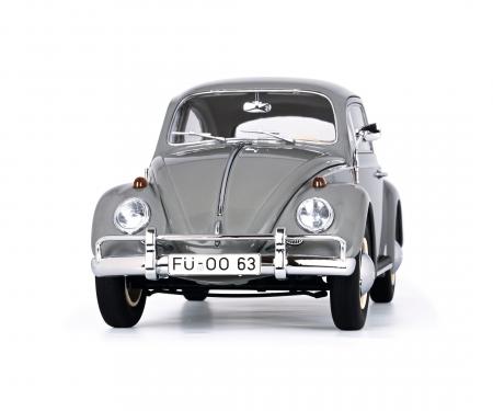 "schuco VW Käfer Limousine ""1963"", grey, 1:18"