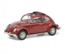 "schuco VW Käfer Faltdach ""1963"", red, 1:18"