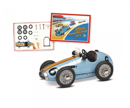 schuco Grand Prix Racer #6 construction kit, blue