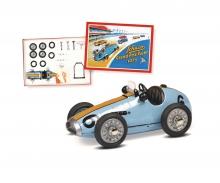 schuco Grand Prix Racer #6 Montagekasten, blau