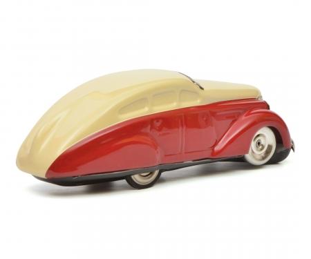 schuco Turning Car (Wendeauto) 1010, rot-beige