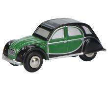 """schuco Citroën 2CV """"Charleston"""", grün/schwarz"""