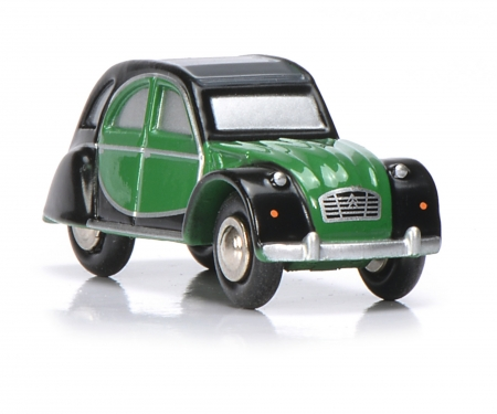 "schuco Citroën 2CV ""Charleston"", green/black"