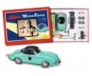 """Micro Racer """"Porsche 356"""" Montagekasten, grün-grau"""