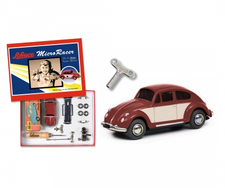 "Micro Racer ""VW Käfer"" construction kit, dark red beige"