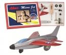 """schuco Micro Jet """"Super Sabre F100"""" Montagekasten"""