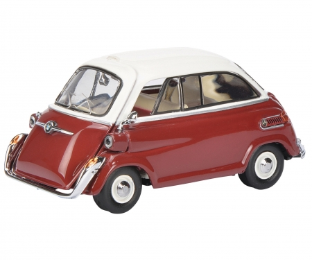 BMW 600, rot-weiss 1:43