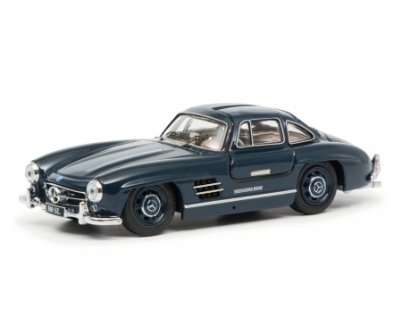 schuco Mercedes-Benz 300SL Coupé, blue 1:43