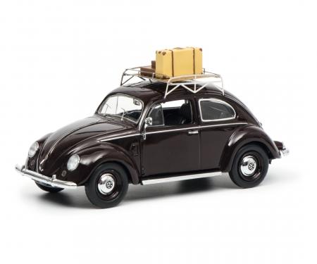 """VW Brezelkäfer """"Sommer '51"""", weinrot 1:43"""